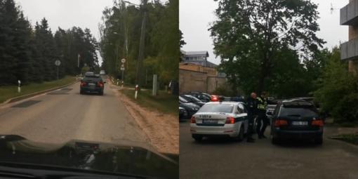 Benediktas Vanagas sostinės gatvėmis vaikėsi neblaivų vairuotoją (vaizdo įrašas)