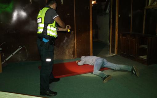 Ne vieną nusikalstamą veiką Jonavoje įvykdęs jaunuolis atsidūrė areštinėje