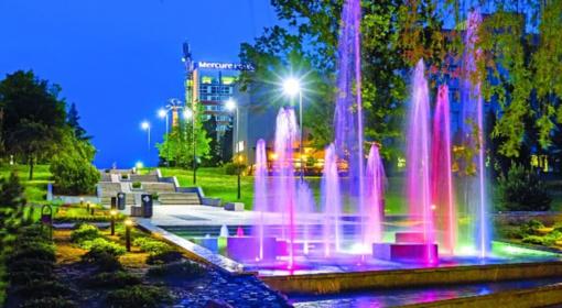 Marijampolėje vėl atgijo fontanai (vaizdo įrašas)