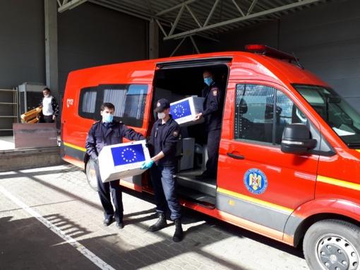 Rumunijos dovana – 20 tūkst. respiratorių – bus perduota į medicinos rezervą