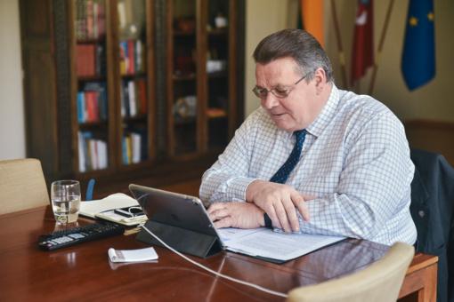 Lietuvos ir Vokietijos užsienio reikalų ministrai aptarė artėjantį Rytų partnerystės susitikimą