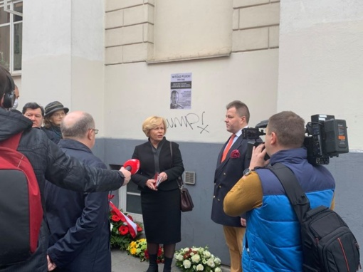 Vilniuje pagerbtas kovos prieš nacizmą ir komunizmą didvyris Vitoldas Pileckis