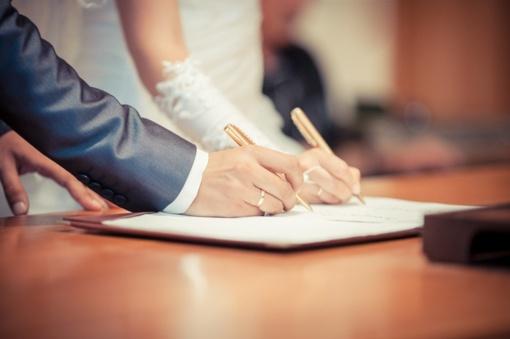 Panevėžio rajone santuokų registraciją sutrikdė pandemija