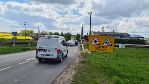 Šiaulių rajone žuvo traukinio partrenkta moteris