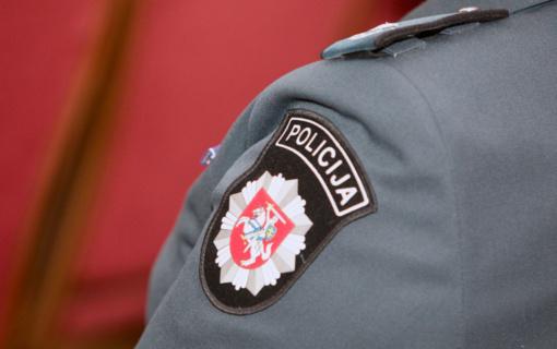 Policija operatyviai išsiaiškino viešosios tvarkos pažeidėją