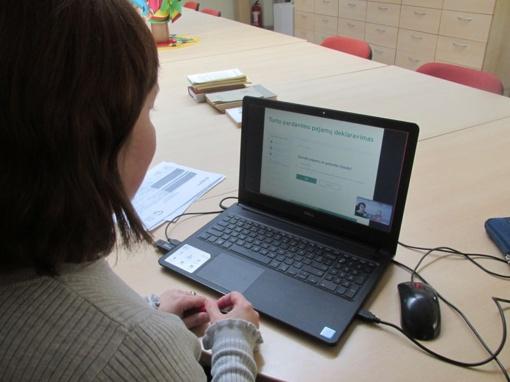 Skaitmeniniai mokymai kartu su Valstybinės mokesčių inspekcijos atstove