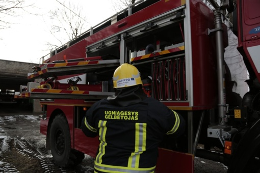 Per gaisrą galėjo sudegti vištos ir triušiai