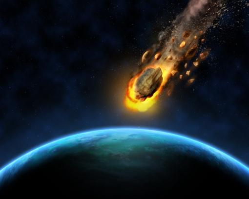 """Dinozaurus nušlavęs asteroidas į Žemę rėžėsi """"pražūtingiausiu įmanomu"""" kampu"""