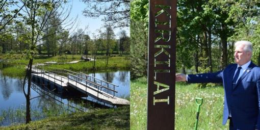 Biržiečių ir miesto svečių lauks naujas Kirkilų pramogų parkas
