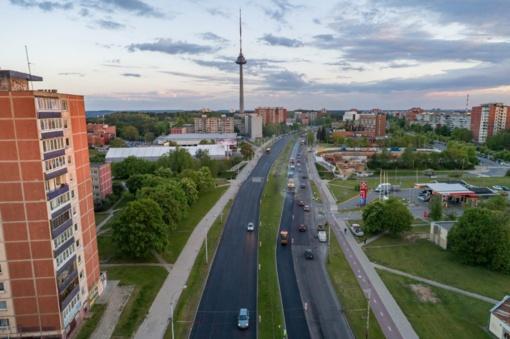 Per pastaruosius metus atnaujinta jau 4 kilometrai Laisvės prospekto