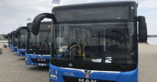 """Autobusų parkas: koronavirusas """"suvalgė"""" pernykštį pelną"""