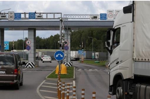 Sulaikytas ukrainietis turėjo, įtariama, suklastotą automobilio dokumentą
