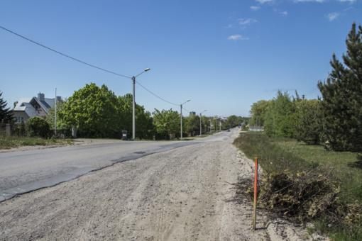 Tauralaukyje – miesto gatvei būdinga infrastruktūra