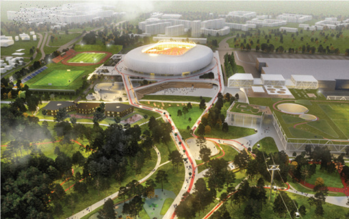 R. Šimašius: yra prielaidų toliau tęsti nacionalinio stadiono projektą