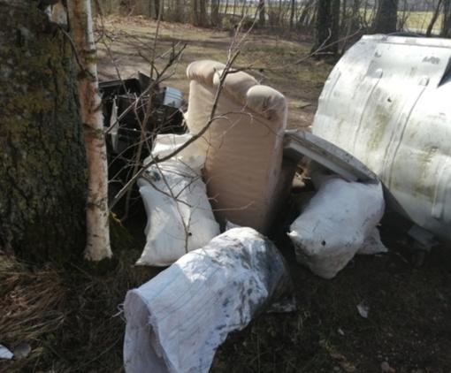 Viešosios tvarkos pareigūnai perspėja – aplinkos teršėjams gresia baudos
