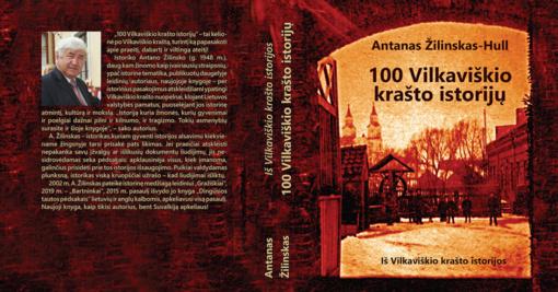 """Išleista istoriko Antano Žilinsko knyga """"100 Vilkaviškio krašto istorijų"""""""
