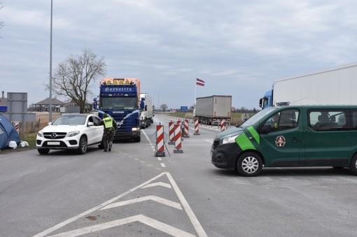 Nuo birželio 1 dienos naikinama sienos su Latvija kontrolė