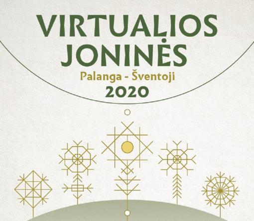 Virtualios Joninės Palangoje ir Šventojoje
