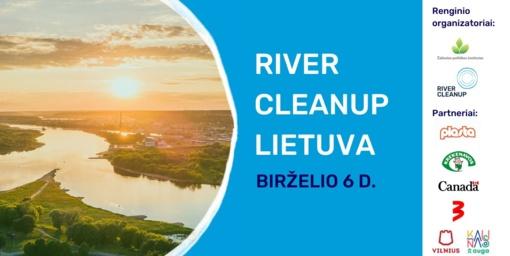 """Lazdijai jungiasi prie tarptautinės akcijos """"River Cleanup"""""""