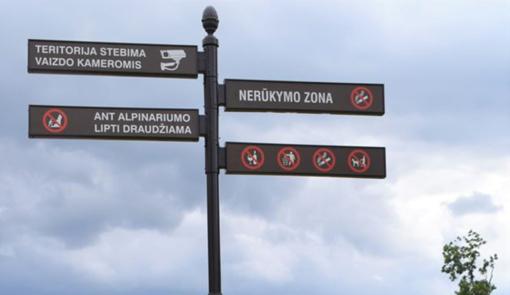 Gyventojų dėmesiui – nerūkymo zonos Širvintų mieste