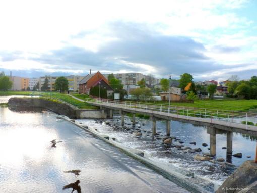 Kelmės miesto Kražantės upės tvenkinys išliks