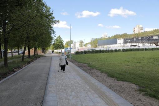 Didžiuliai pokyčiai sostinės Lazdynų rajono centre – tvarkoma aplinka ir infrastruktūra