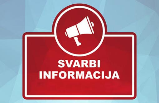 Svarbi informacija grįžtantiems iš užsienio visaginiečiams