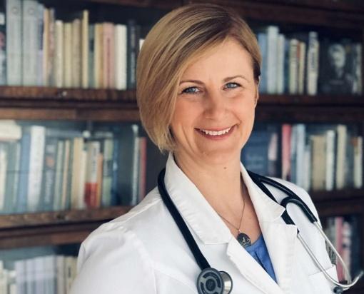 Kėdainių ligoninės gydytoja reabilitologė Raimonda Augienė apie įvairius jausmus iššaukiančią pandemiją: ieškokime pozityvo kasdienėse situacijose