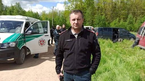 R. Požėla: policininko nužudymo vietoje Mažeikių rajone rastas apdegęs kūnas – žmogaus