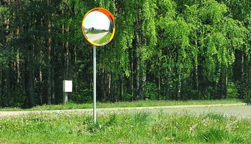 Saugaus eismo priemonės pakeliui į vasaros estradą įrengtos atsižvelgus į gyventojų pasiūlymus