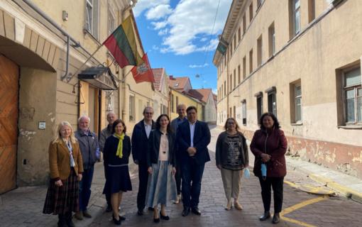 Darbą pradėjo naujasis Vilniaus pilių valstybinio kultūrinio rezervato vadovas