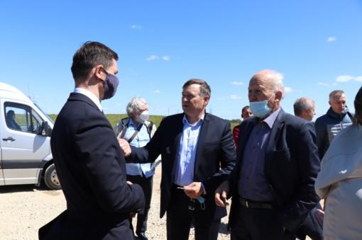 Aplinkos apsaugos komiteto nariai domėjosi Alytaus rajono problemomis