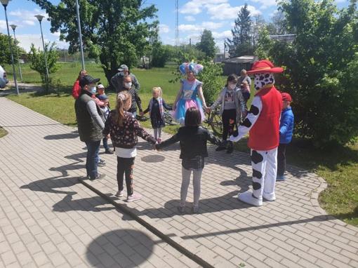 Muilo burbulų fiesta – mažųjų šventei