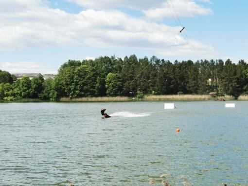 Pirmasis vandenlenčių parkas Radviliškio rajone – Baisogaloje