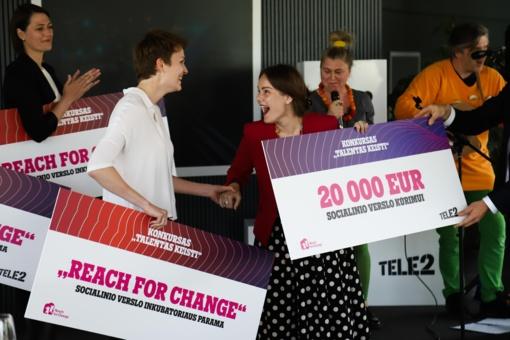 Išrinktos 2 geriausios socialinio verslo idėjos, kurioms atiteko po 20 tūkst. eurų