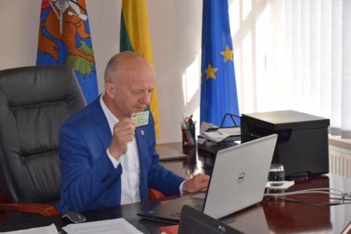Mero veiklos ataskaita įtikino Tarybos narius