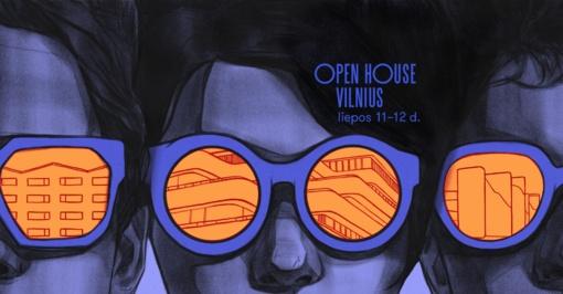 """Vasaros viduryje """"Open House Vilnius"""" pakvies į architektūrinius pasivaikščiojimus"""