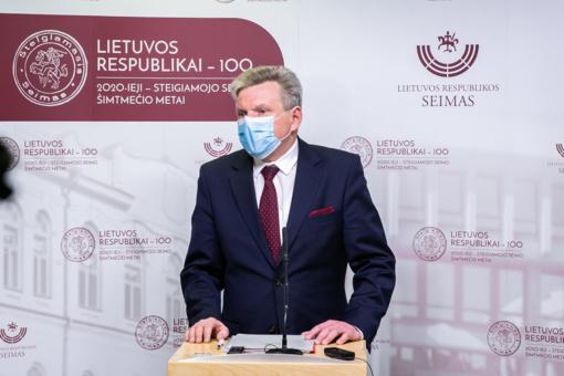 J. Narkevičius apie Klaipėdos uosto vadovo konkurso laimėtoją: niekas man jo nerekomendavo, jokių prašymų nebuvo