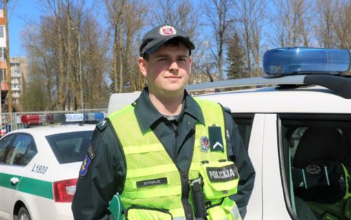 Klaipėdos patrulis apgirtusį vairuotoją sulaikė ne tarnybos metu kitoje apskrityje