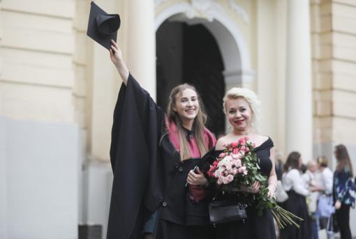 Vilniaus universitete diplomų teikimo šventė bus tradicinė