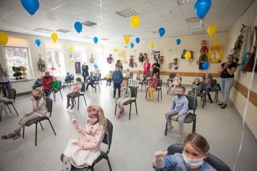 Lėlių teatras Kačerginėje šventė gimtadienį