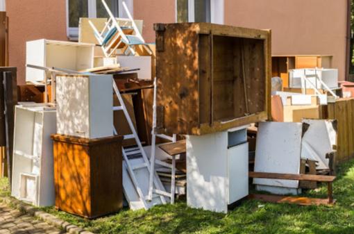 Nemokama akcija: iš Kauno rajono gyventojų bus surenkamos didelių gabaritų atliekos