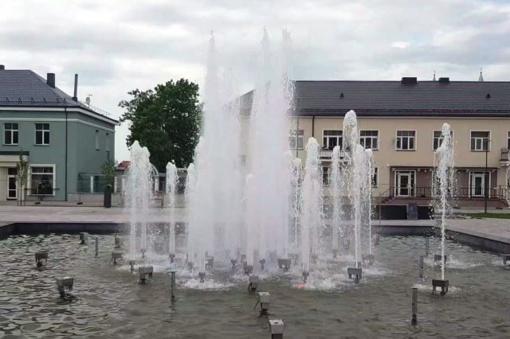 Kupiškio miesto fontano muzikinių kūrinių sąrašas papildytas 2 naujais kūriniais