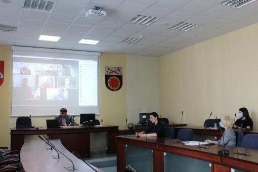 Jaunimo reikalų tarybos posėdyje kalbėta apie veiklas, atsižvelgiant į COVID-19 situaciją
