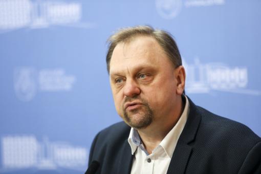 V. Sutkus apie tiriamą 400 tūkst. eurų kilmę: nieko nežinau apie tai