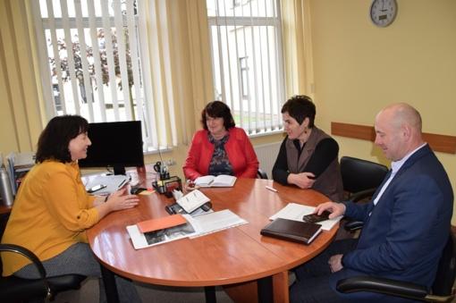 Aptartos Jiezno paramos šeimai centro veiklos aktualijos