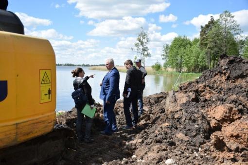 Biržuose įsibėgėjo Astravo dvaro sodybos parko tvarkymo darbai