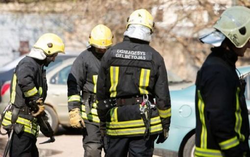 Ministrės padėka Kupiškio ugniagesiui gelbėtojui Martynui Vitkevičiui