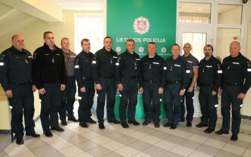 Su Utenos apskrities VPK atstovais susitiko policijos generalinio komisaro pavaduotojas ir patarėjas