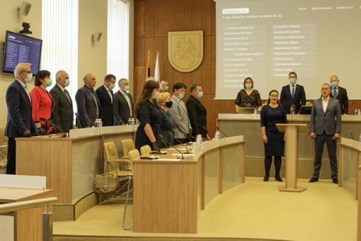Raseinių rajono savivaldybės taryba grįžo posėdžiauti į Savivaldybės salę